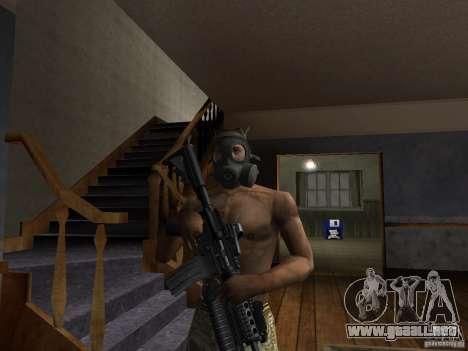Sombreros de Call of Duty 4: Modern Warfare para GTA San Andreas tercera pantalla