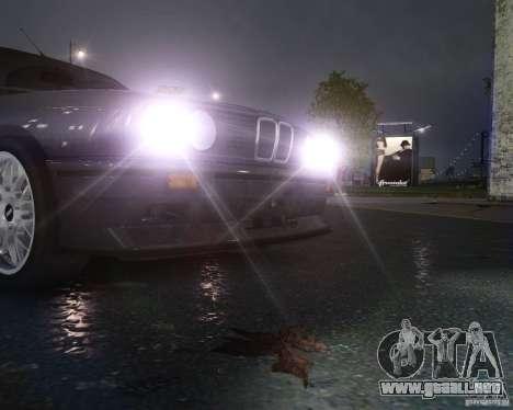 BMW M3 E30 para GTA 4 vista desde abajo