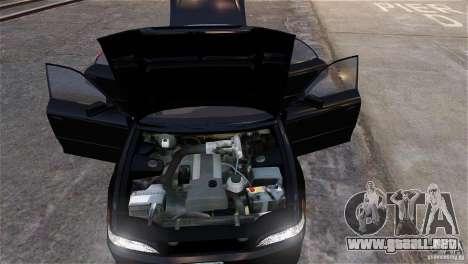 Toyota Mark II 2.5 para GTA 4 ruedas