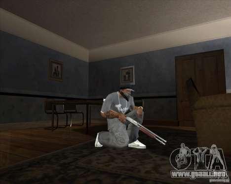 Jarra Mono Arsenal v1.2 para GTA San Andreas tercera pantalla