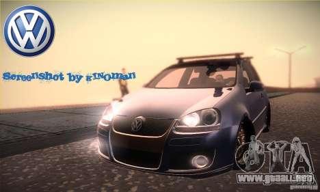 Volkswagen Golf Mk5 GTi para GTA San Andreas