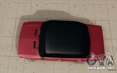 Lada 2106 Vaz para la visión correcta GTA San Andreas