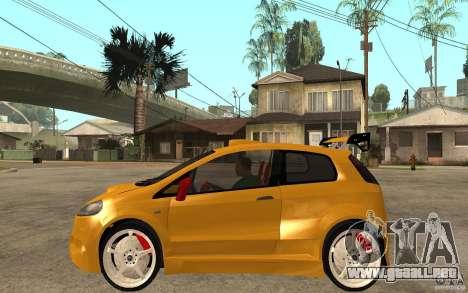 Fiat Grande Punto Tuning para GTA San Andreas left