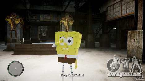 Bob esponja para GTA 4