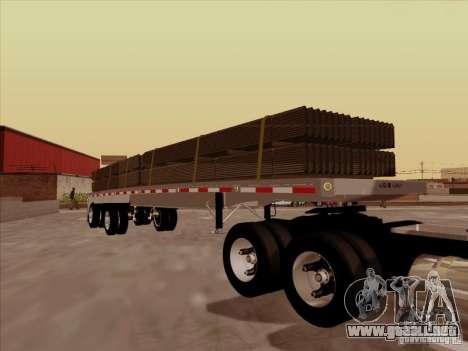 Trailer Artict1 para GTA San Andreas vista hacia atrás