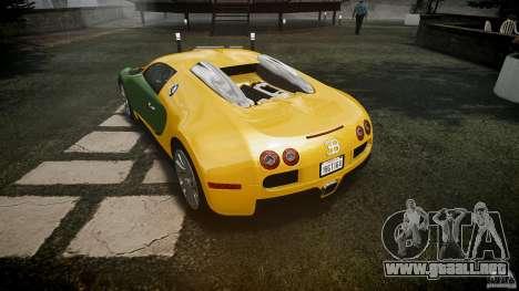 Bugatti Veyron 16.4 v3.0 2005 [EPM] Machiavelli para GTA 4 vista superior