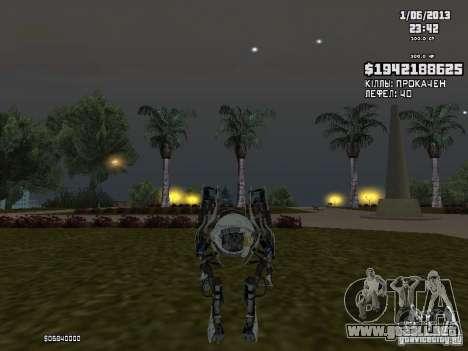 Atlas para GTA San Andreas segunda pantalla