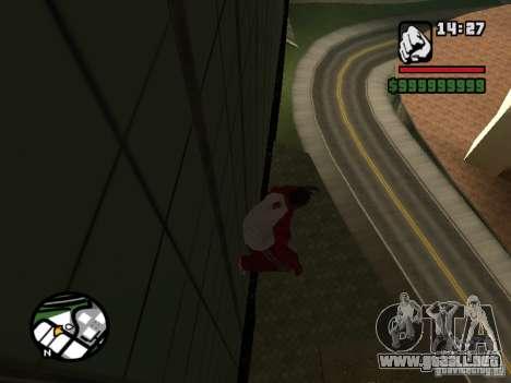 Wallrun-endless corriendo en la pared para GTA San Andreas segunda pantalla