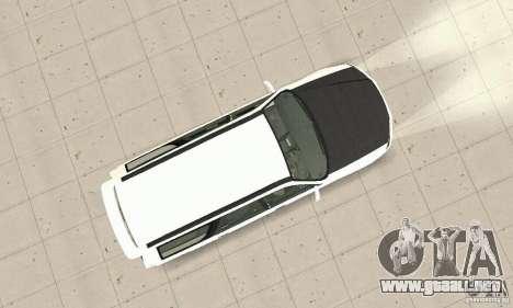 Nissan Stagea GTR para visión interna GTA San Andreas