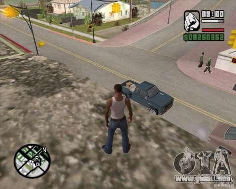 GTA 4 Anims for SAMP v2.0 para GTA San Andreas sexta pantalla