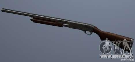 Remington 870AE Silver para GTA San Andreas tercera pantalla