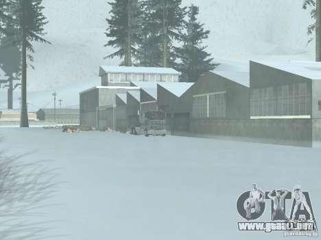 Invierno para GTA San Andreas tercera pantalla