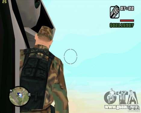 U.S.M.C. Desant para GTA San Andreas sucesivamente de pantalla