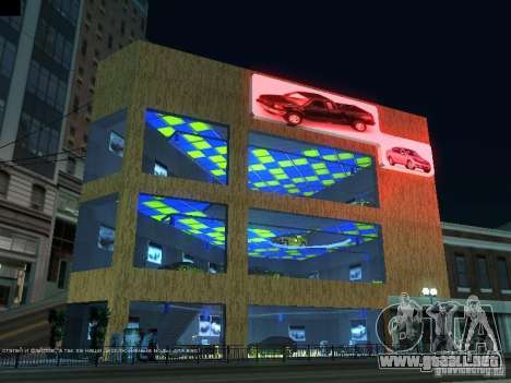 Nuevo showroom en San Fiero para GTA San Andreas