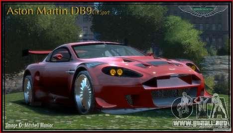 Aston Martin DB9 GTR SPORT [NFS Undercover] para GTA 4
