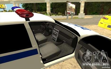 Samara LADA 2170 DPS para GTA San Andreas left