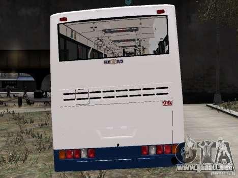 NEFAZ-5299 10-15 para GTA 4 visión correcta
