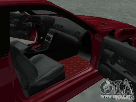 Nissan Skyline R32 Tuned para vista lateral GTA San Andreas