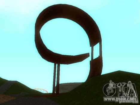 Ekstrimalov Park para GTA San Andreas quinta pantalla
