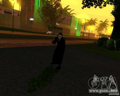 Grito (grito) para GTA San Andreas segunda pantalla