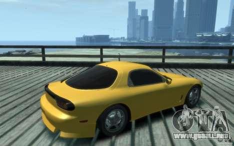 Mazda RX-7 v1 para GTA 4 visión correcta
