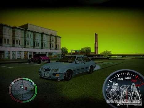 Velocímetro de Centrale v2 para GTA San Andreas