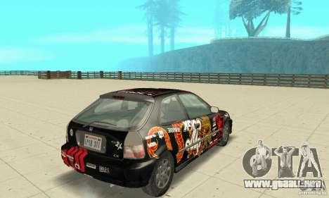 Honda-Superpromotion para GTA San Andreas left