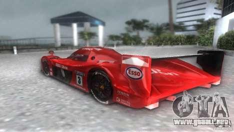Toyota GT-One TS020 para GTA Vice City vista lateral izquierdo