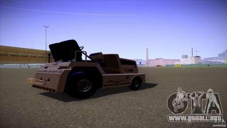 Air Tug from GTA IV para GTA San Andreas left