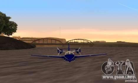 Beriev ser-103 para GTA San Andreas vista posterior izquierda