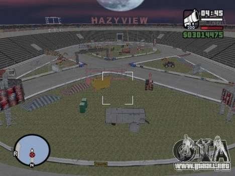 Hazyview para GTA San Andreas segunda pantalla