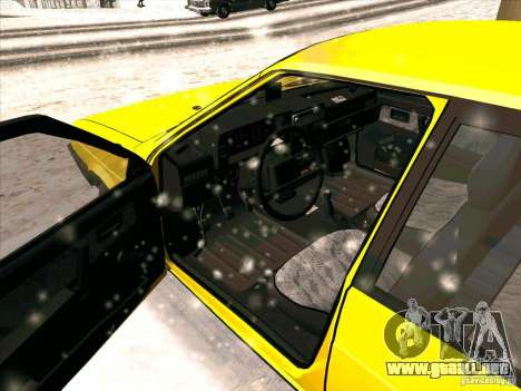 VAZ 21093i TMK Afterburner para GTA San Andreas left