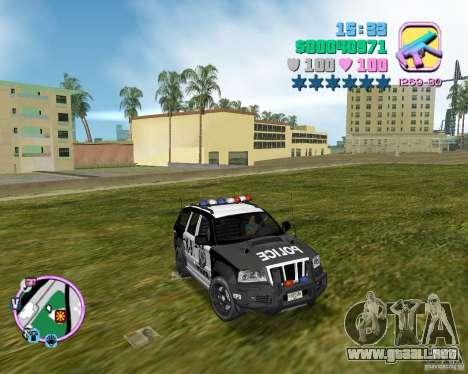 Jeep Grand Cheeroke COPSUV FROM NFS:MW para GTA Vice City