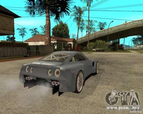 Nissan Skyline GT-R35 proto tuned para GTA San Andreas