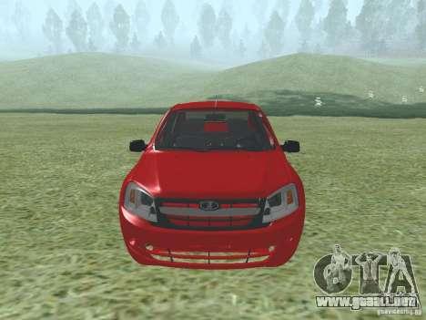 VAZ 2192 para GTA San Andreas left