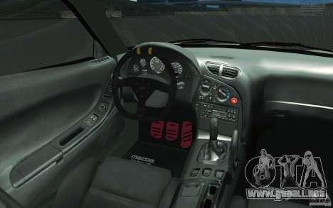 Mazda FD3S - Ebisu Style para la vista superior GTA San Andreas