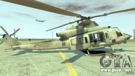 Bell UH-1Y Venom para GTA 4 left