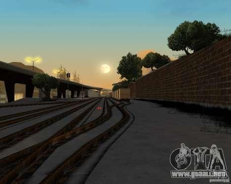 Nueva estación de ferrocarril para GTA San Andreas sucesivamente de pantalla