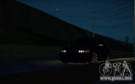 VAZ-2110 para la vista superior GTA San Andreas