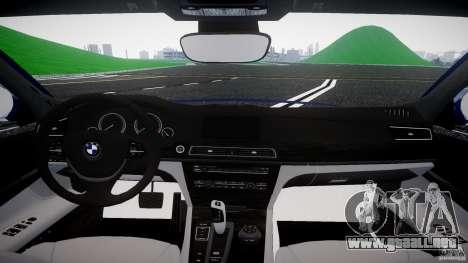 BMW 118i para GTA 4 vista hacia atrás