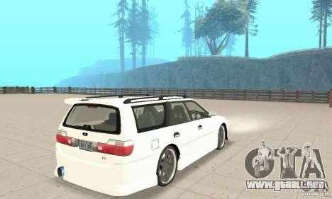 Nissan Stagea GTR para la visión correcta GTA San Andreas