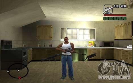 Mosin Sniper Rifle para GTA San Andreas segunda pantalla