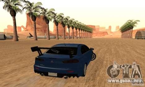New Drift Zone para GTA San Andreas novena de pantalla