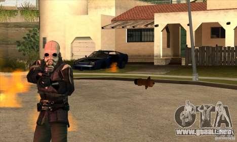 Police Man para GTA San Andreas sucesivamente de pantalla