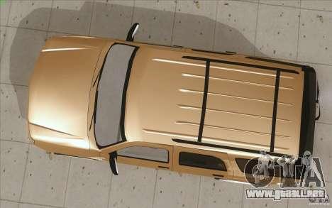 Cadillac Escalade 2004 para la visión correcta GTA San Andreas