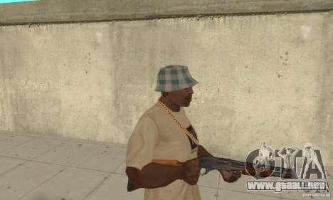 M870 para GTA San Andreas segunda pantalla