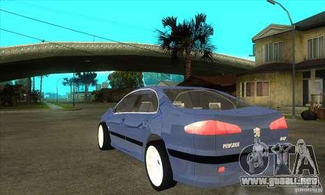 Peugeot 607 para GTA San Andreas