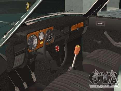 GAZ 24-10 v 2. para GTA San Andreas vista hacia atrás