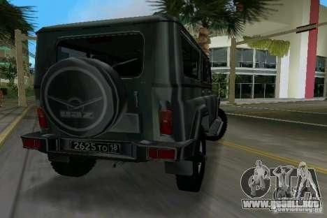 UAZ-3153 para GTA Vice City left