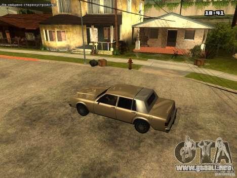 ENB para ordenadores portátiles para GTA San Andreas